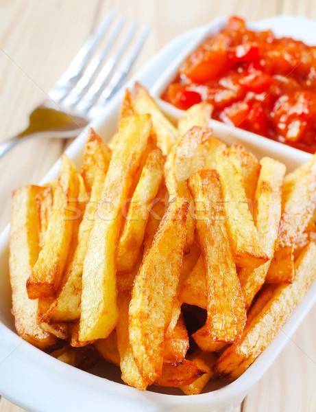 potato fries Stock photo © tycoon