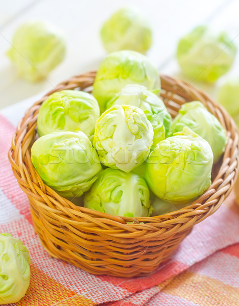brussel cabbage Stock photo © tycoon
