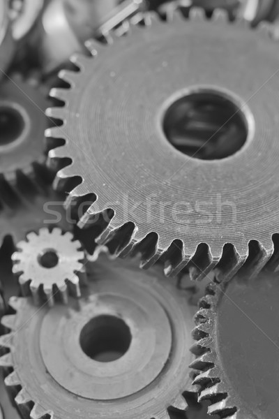 nuts,gears and bolts Stock photo © tycoon
