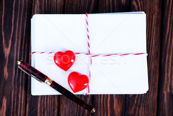 Empty copyspace valentine card  Stock photo © tycoon