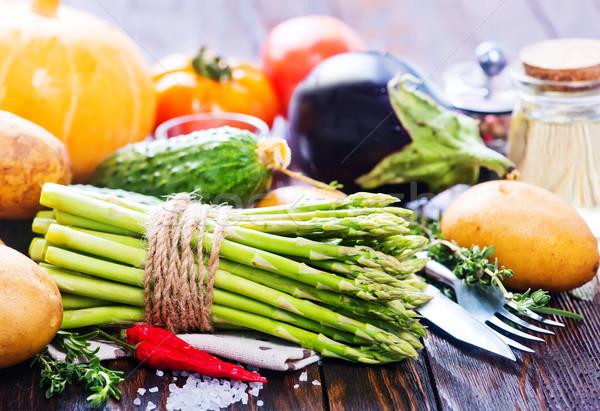 新鮮な野菜 秋 収穫 野菜 表 自然 ストックフォト © tycoon