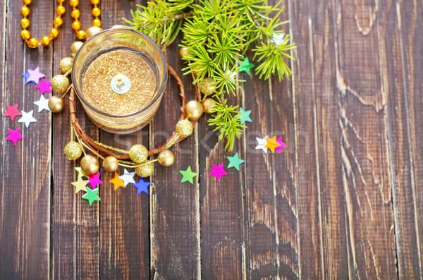 christmas candle Stock photo © tycoon