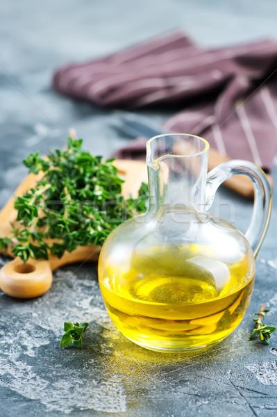 thyme oil Stock photo © tycoon
