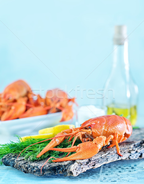 Stock photo: boiled cancer