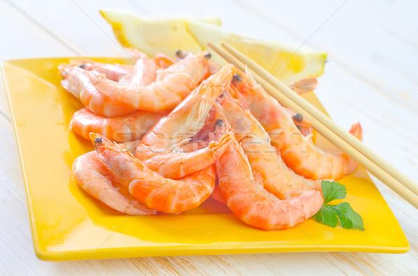 Gıda turuncu yeşil kırmızı limon fincan Stok fotoğraf © tycoon