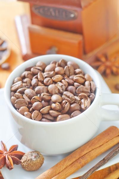 Kávé aroma fűszer háttér gyógyszer bár Stock fotó © tycoon