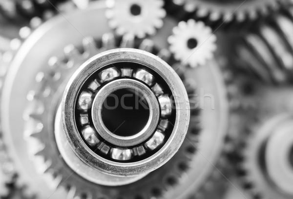 Noix technologie énergie machine acier engins Photo stock © tycoon