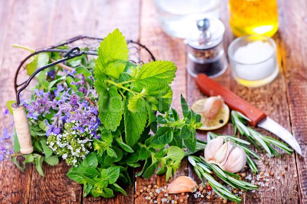 fresh herbal Stock photo © tycoon