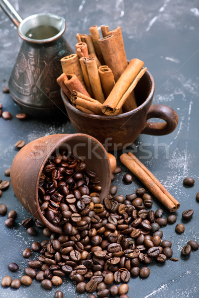 coffee beans Stock photo © tycoon
