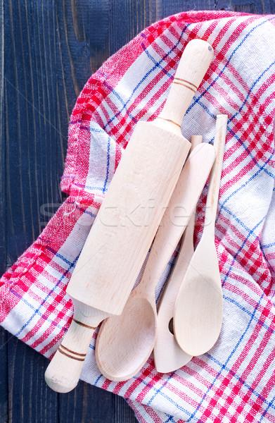 Fondo cocina restaurante espacio tarjeta cocina Foto stock © tycoon
