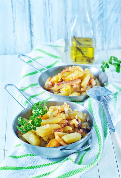 fried potato Stock photo © tycoon