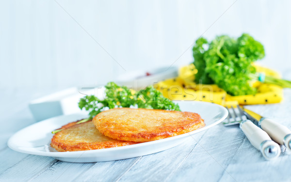 potato pancakes Stock photo © tycoon