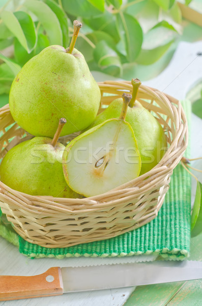 fresh pears Stock photo © tycoon