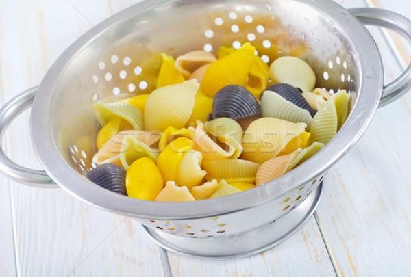 цвета пасты продовольствие здоровья фон пузырьки Сток-фото © tycoon