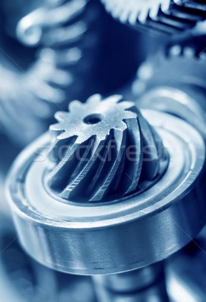 механический работу фон промышленных машина инструментом Сток-фото © tycoon
