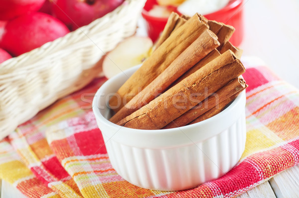 apples and cinnamon Stock photo © tycoon