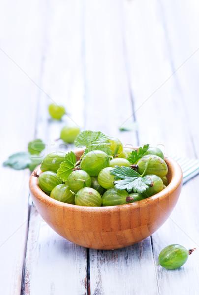 green gooseberry Stock photo © tycoon