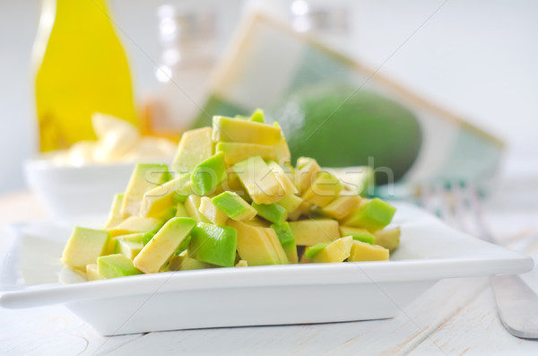 salad with avocado Stock photo © tycoon