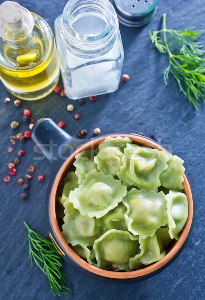 Queso placa cocina comer plato saludable Foto stock © tycoon