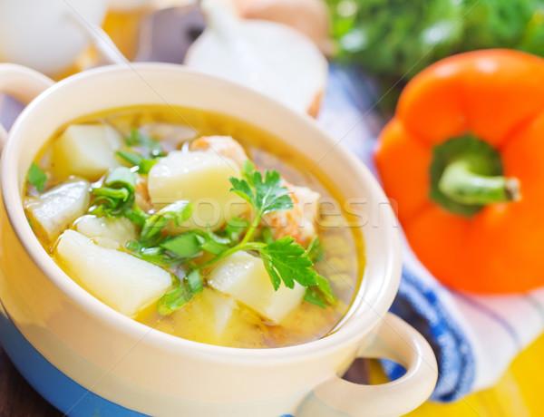 fresh soup Stock photo © tycoon