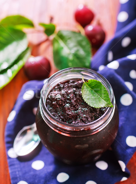 cherry jam Stock photo © tycoon