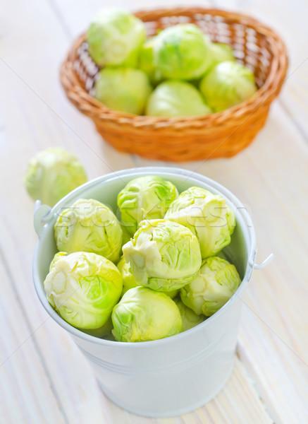 キャベツ 水 食品 表 緑 ディナー ストックフォト © tycoon