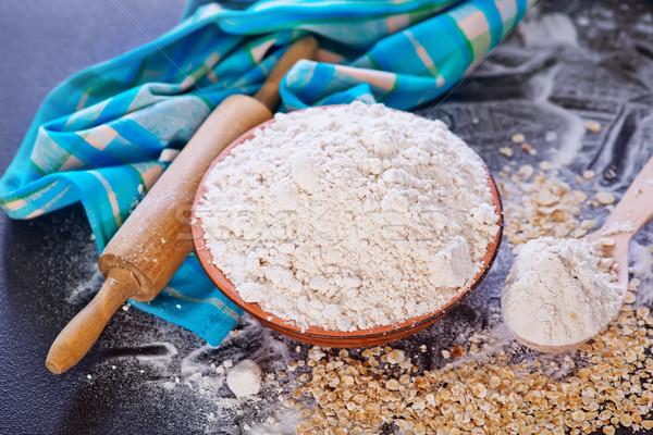oat flour Stock photo © tycoon