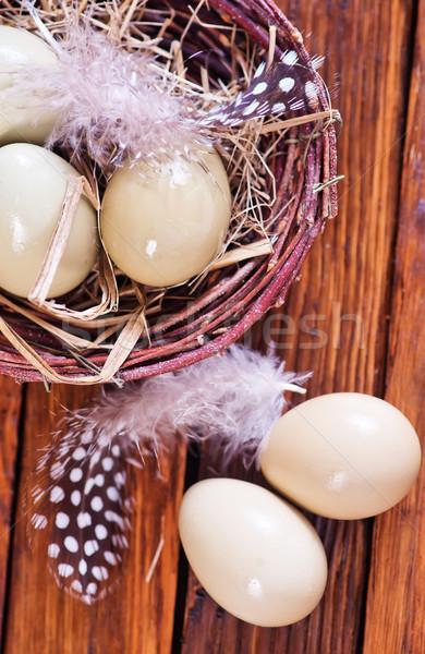 Eggs pheasant Stock photo © tycoon