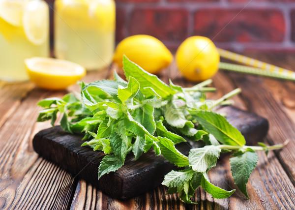 Fresco de tabela estoque foto comida Foto stock © tycoon