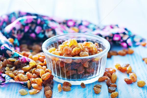 изюм кегли таблице фон винограда приготовления Сток-фото © tycoon