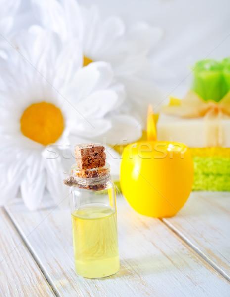 Сток-фото: аромат · мыло · нефть · трава · тело · красоту