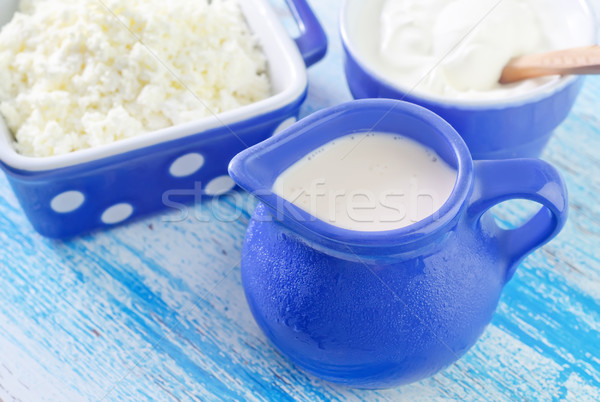 milk products Stock photo © tycoon