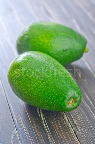 świeże awokado owoców tle zielone spadek Zdjęcia stock © tycoon