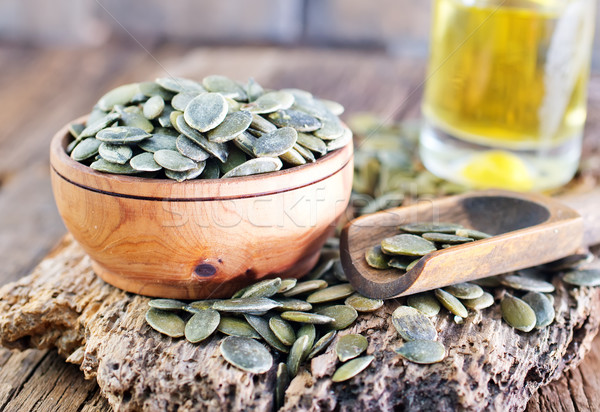 pumpkin seed Stock photo © tycoon