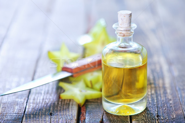 аромат нефть бутылку таблице медицинской природы Сток-фото © tycoon