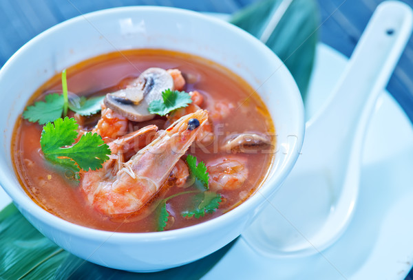 tom yam soup Stock photo © tycoon