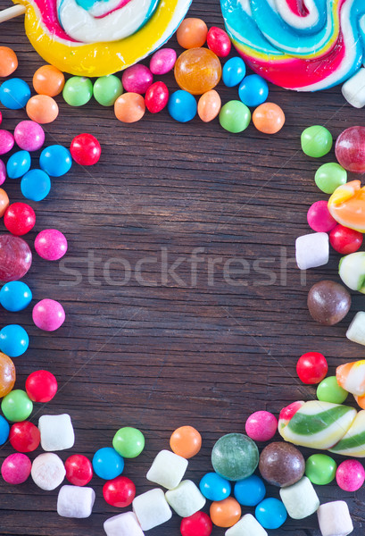 sweet color candy Stock photo © tycoon