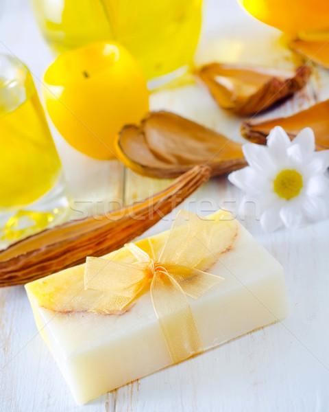 мыло аромат нефть морем красоту медицина Сток-фото © tycoon