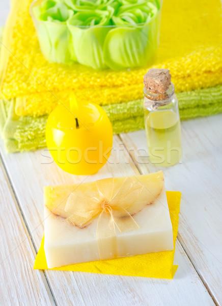 aroma soap Stock photo © tycoon