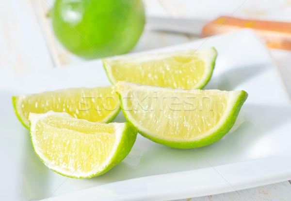 fresh lime Stock photo © tycoon