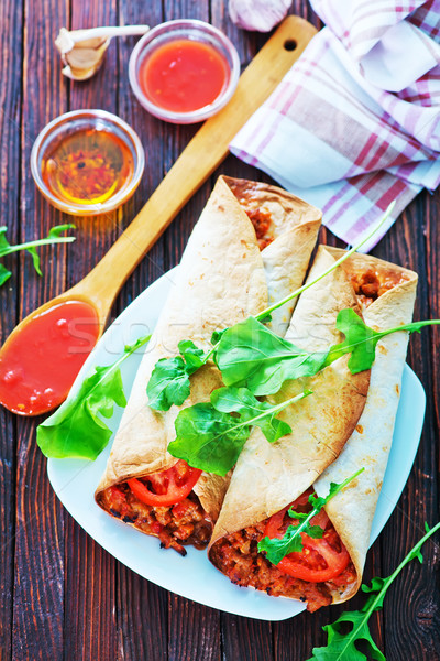 burrito Stock photo © tycoon