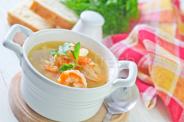 fresh soup Stock photo © tycoon