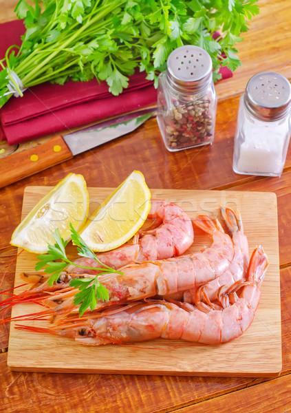 Stock photo: shrimps