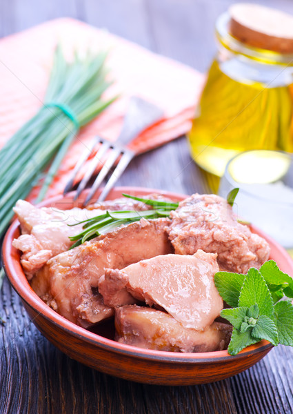 liver cod Stock photo © tycoon