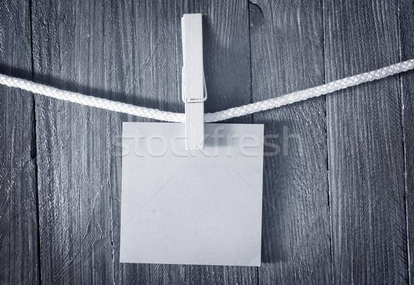 Film pen nero buio vintage bianco Foto d'archivio © tycoon