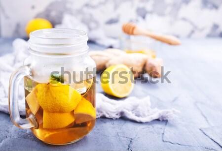 Spa obiektów morza oleju tabeli owoców Zdjęcia stock © tycoon