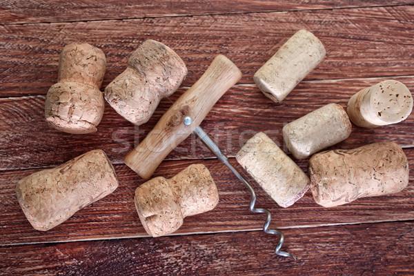 corks Stock photo © tycoon