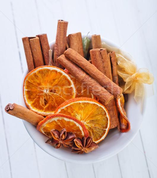 Aroma Spice cucina star tè buio Foto d'archivio © tycoon