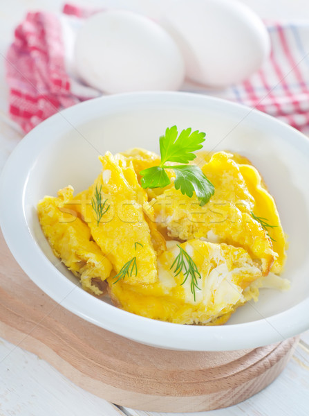 omelet Stock photo © tycoon