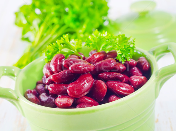 red beans Stock photo © tycoon